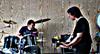 Guitar Cedric Willems drums Luc De Rauw